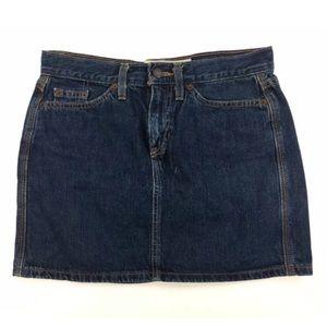 Gap Womens 4 Blue Jeans Denim Mini Skirt